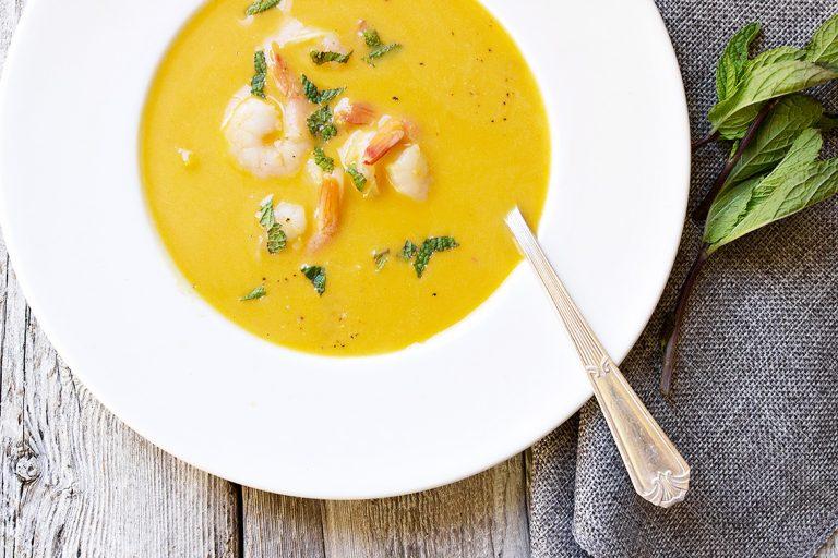 Slow-Cooker Thai Butternut Squash Soup