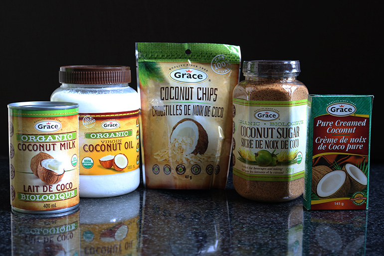 Grace Organic Coconut Products