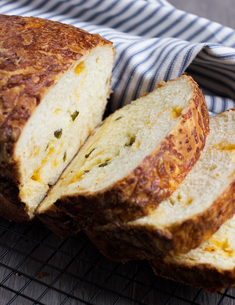 Jalapeno Cheese Yeast Bread