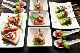 Assorted Watermelon Hors D'ouvres