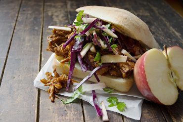 Apple Pulled Pork Sandwiches