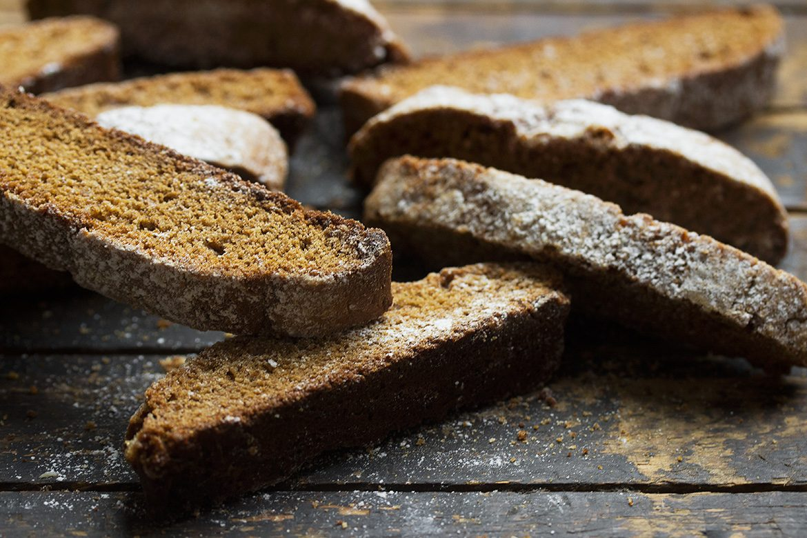 My Favourite Gingerbread Biscotti