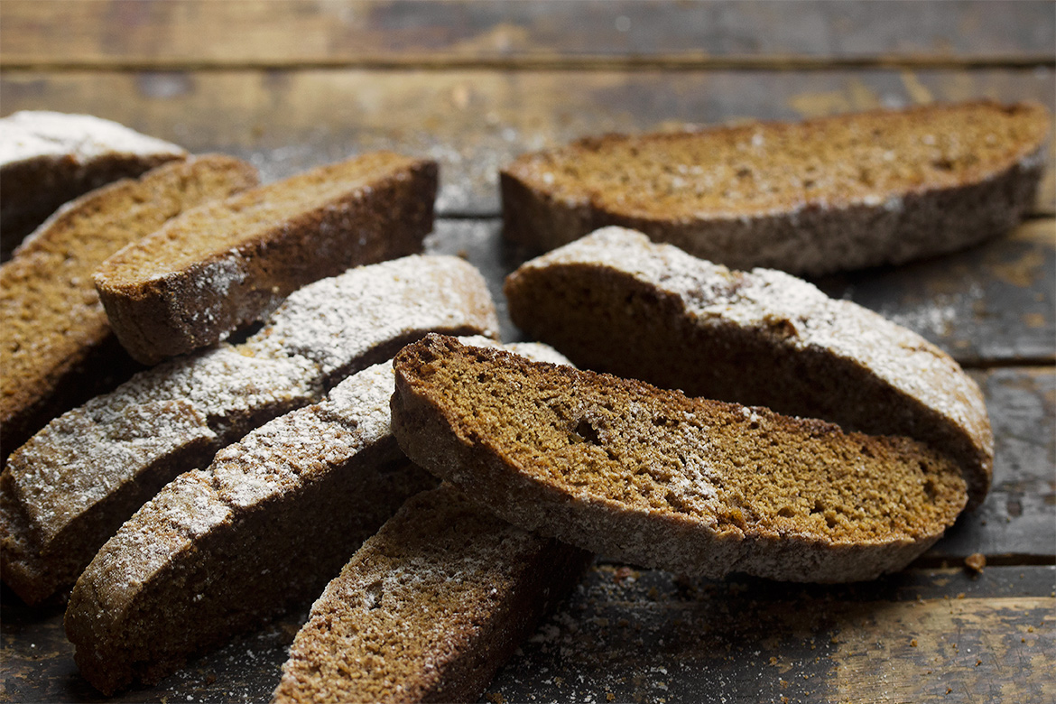Simply Perfect Gingerbread Biscotti