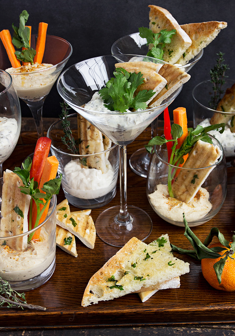 Appy Inspiration! Individual Dip Glasses