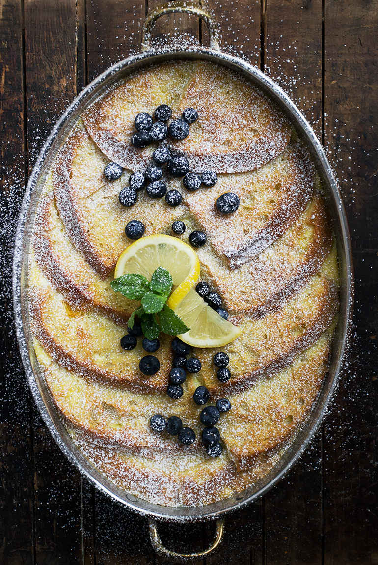 Baked Lemon French Toast