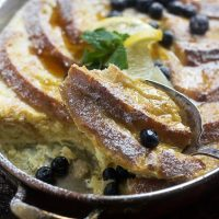 Baked Lemon French Toast