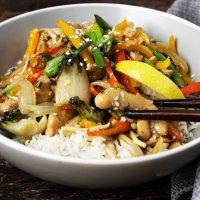 15-Minute Lemon Chicken Stir Fry