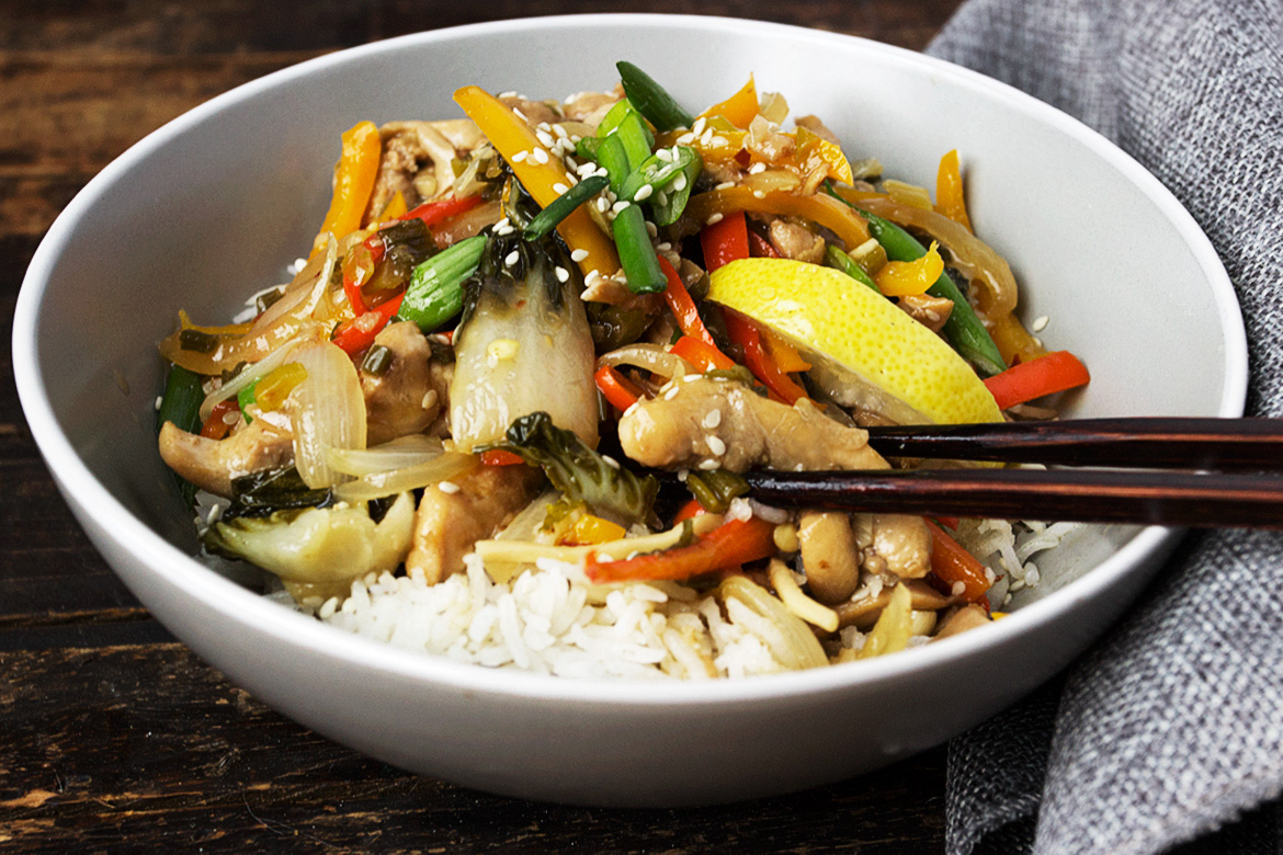 15-Minute Lemon Chicken Stir Fry