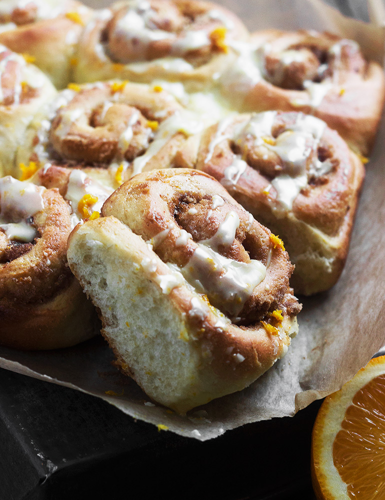 Orange Cinnamon Morning Rolls
