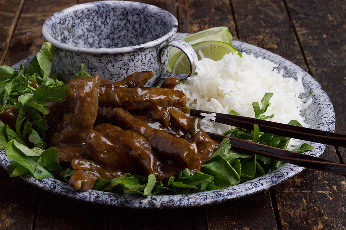 Vietnamese Shaking Beef with Watercress - Seasons and Suppers