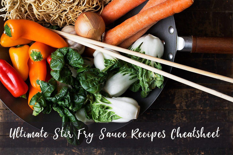 Ultimate Stir Fry Sauce Recipes Cheatsheet