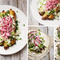 Carnitas Tacos and Carnitas Flautus