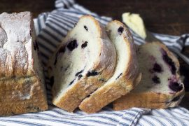 Fresh Blueberry Yeast Bread