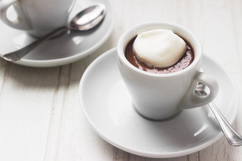 Irish Cream Chocolate Shots for Two