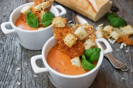 Aged Cheddar Soup Croutons