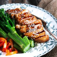 Easy Teriyaki Chicken Breasts