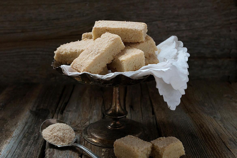 Maple Sugar Shortbread Cookies