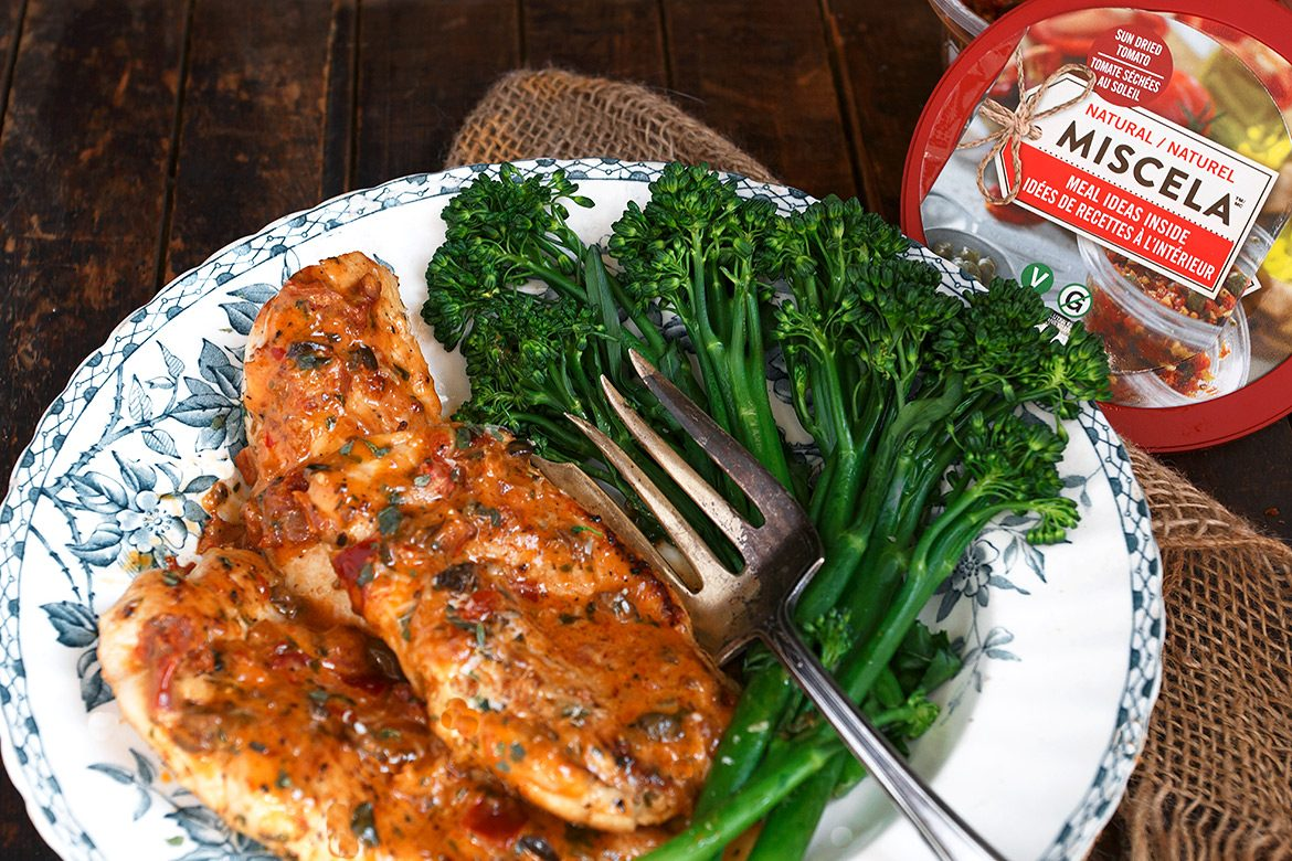 Creamy Sun Dried Tomato Parmesan Chicken