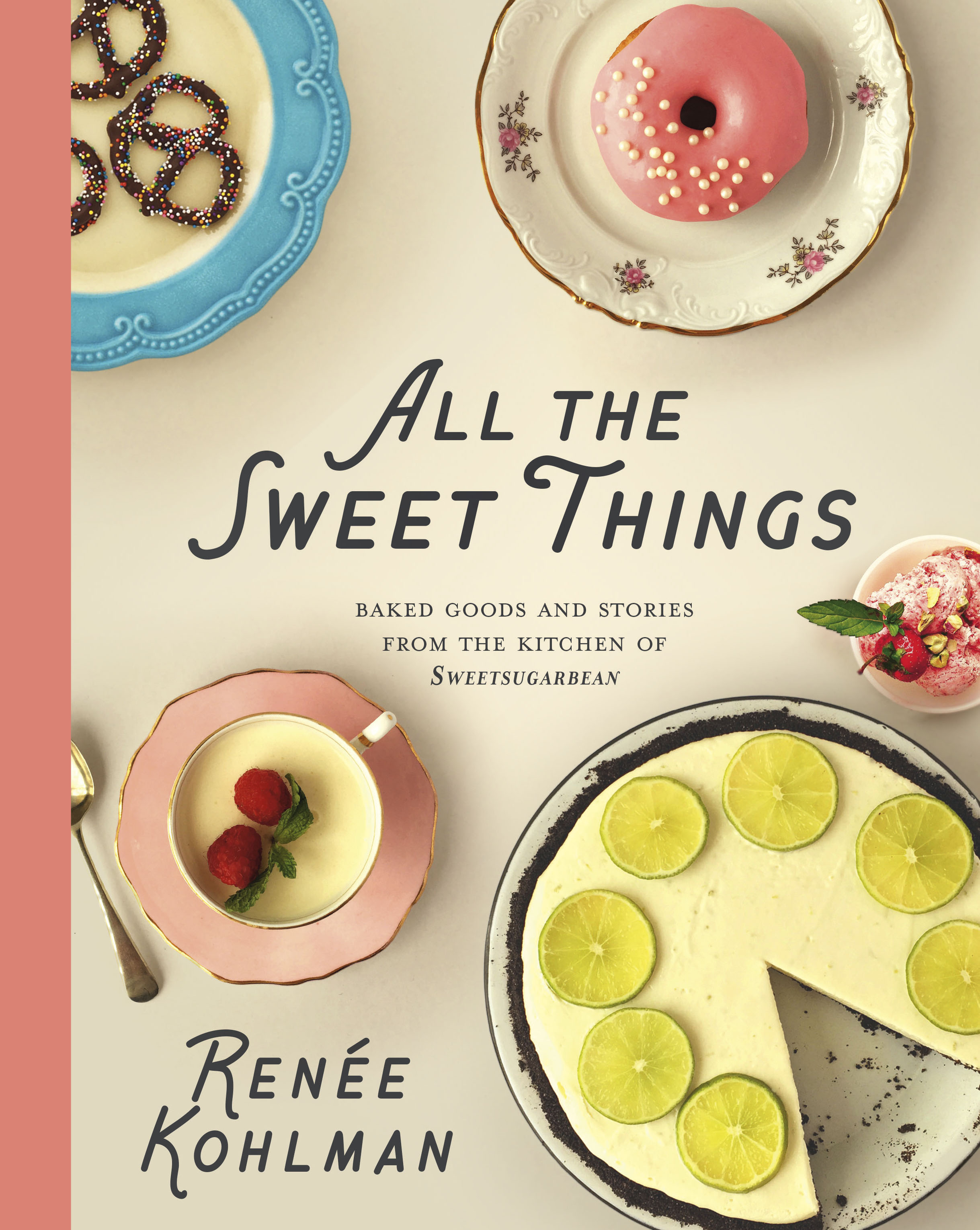 All the Sweet Things Cookbook Cover