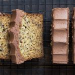 Chocolate Buttercream Frosted Banana Bread
