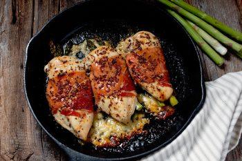 Havarti Asparagus Stuffed Chicken