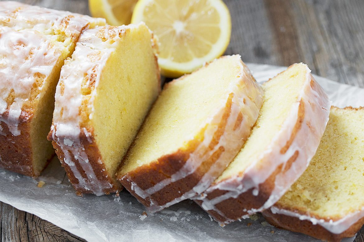Glazed Lemon Pound Cake Loaf Seasons And Suppers