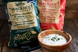 Mackie's Crisps and a Dip Recipe