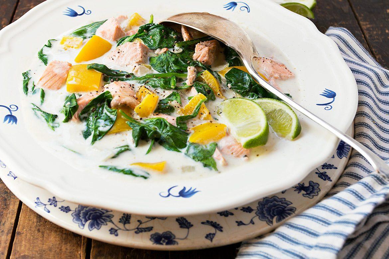 15-Minute Thai Coconut Curry Salmon