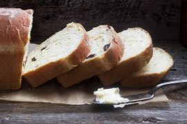 Orange Marmalade and Dried Cranberry Bread
