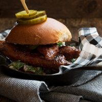 Nashville Hot Chicken Burger