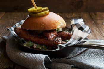 Nashville Hot Chicken Burger