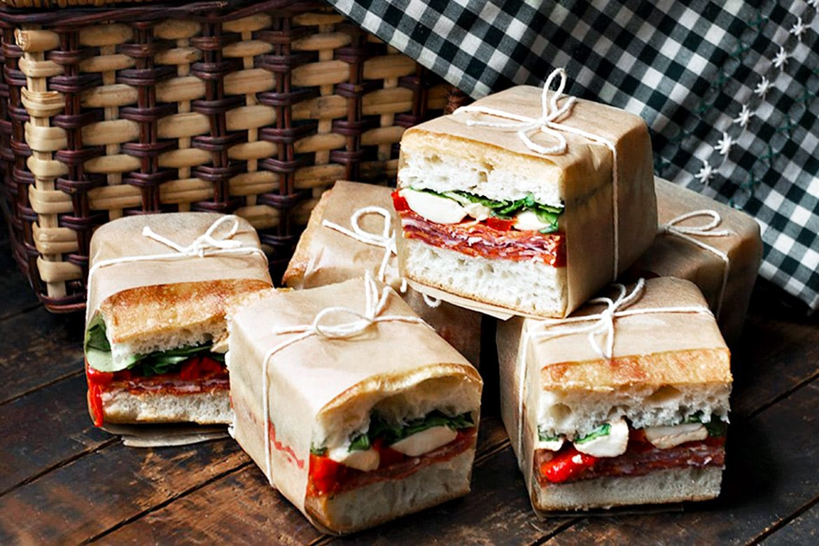 Awe Inspiring Picnic Perfect Pressed Italian Sandwiches Interior Design Ideas Clesiryabchikinfo