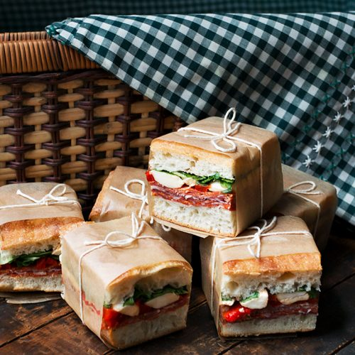 pressed italian picnic sandwiches seasons and suppers