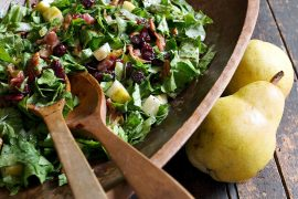 Fall Pear Chopped Salad