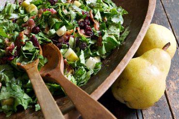 Fall Pear Chopped Salad