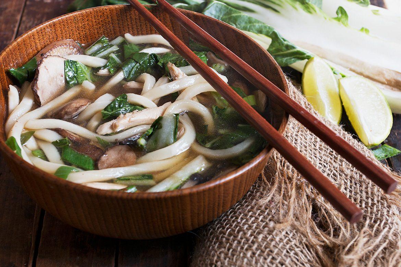15-Minute Asian Turkey Noodle Soup