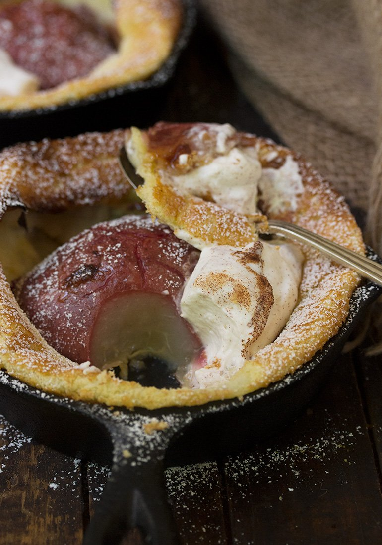 Red Pear Dutch Baby