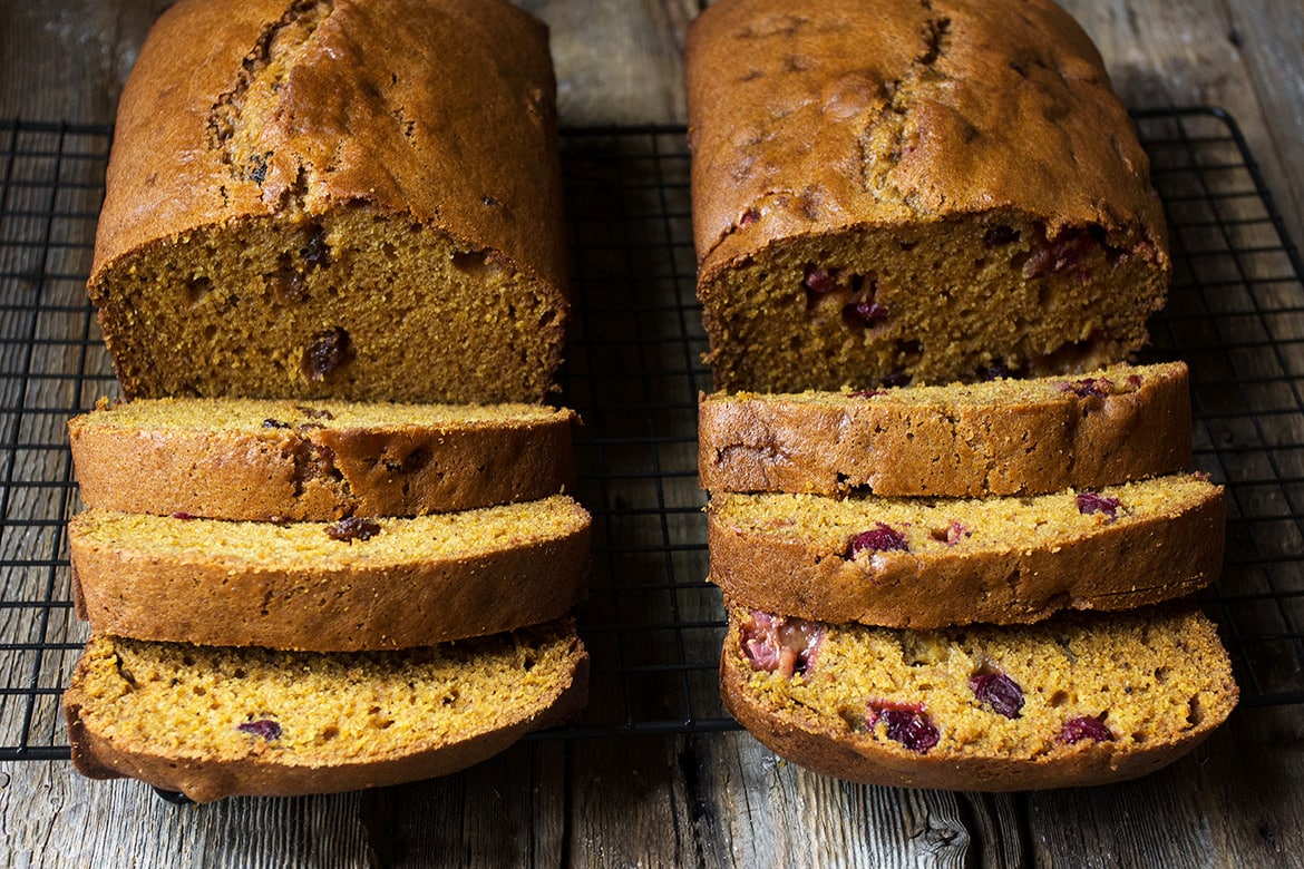 Simply Perfect Pumpkin Bread: Two Ways