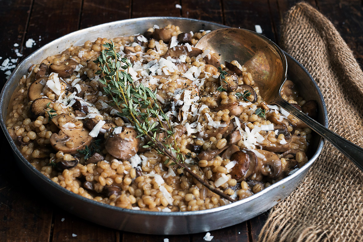 Barley with Mushrooms