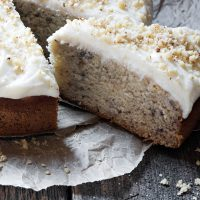 erfect Banana Cake with Cream Cheese Frosting