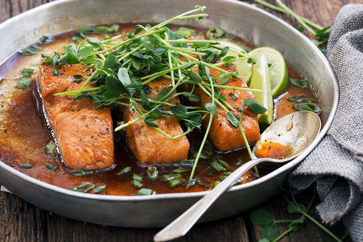 Vietnamese Inspired Instant Pot Salmon With Oven Method Too Seasons And Suppers