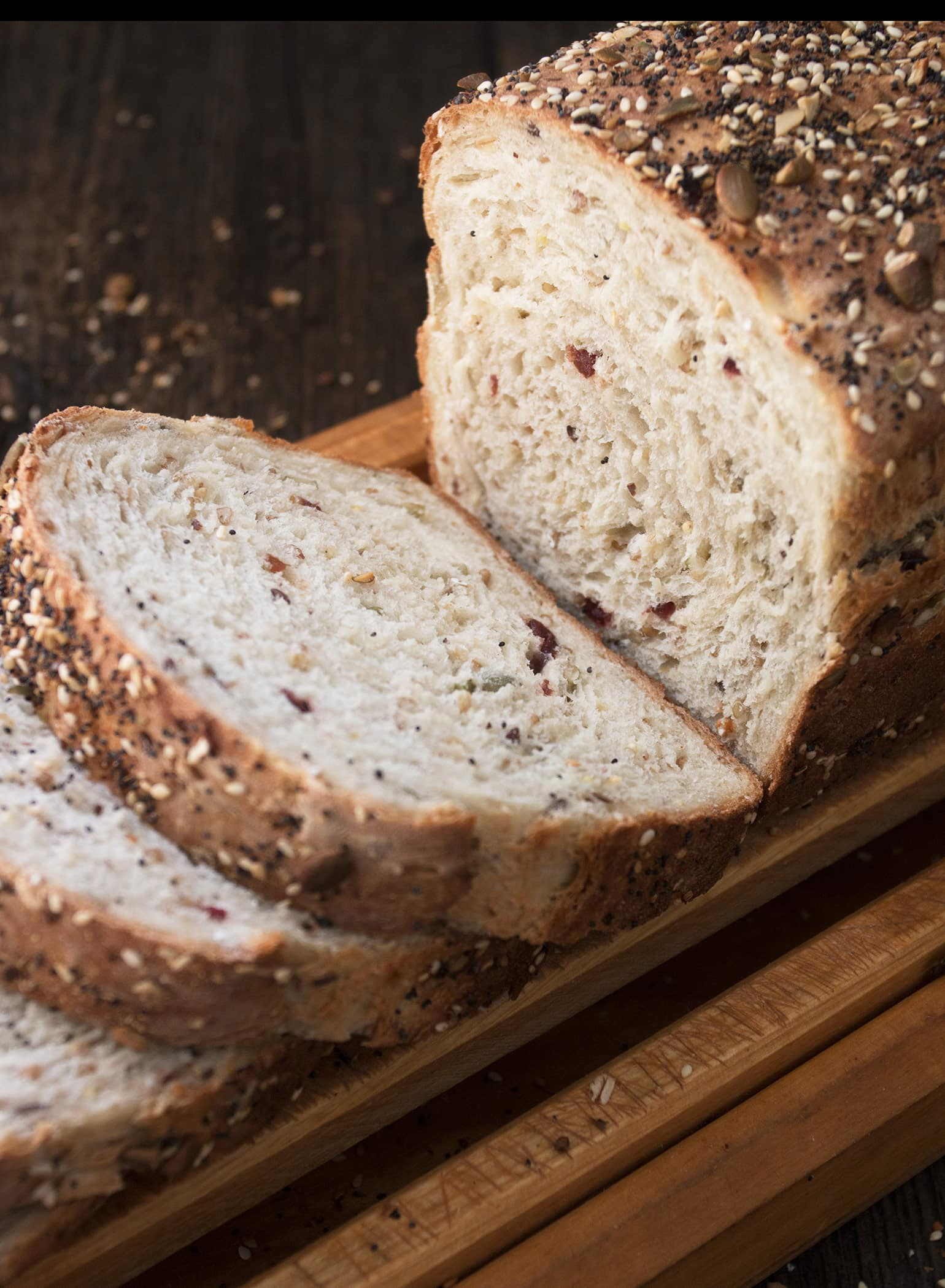 Seeded Multigrain Sandwich Bread