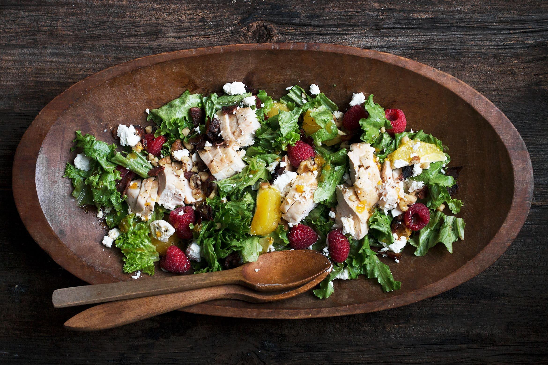Easy Orange Chicken Salad