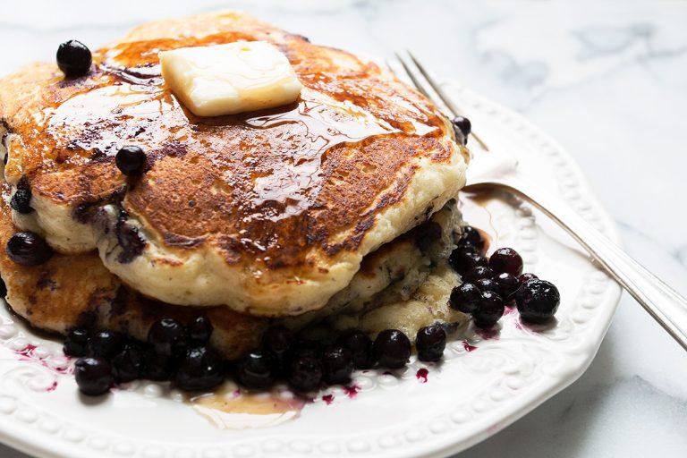 My Best Blueberry Pancakes