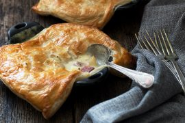 Corned Beef and Cabbage Pot Pies