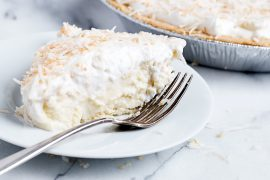 Simply Perfect Homemade Coconut Cream Pie