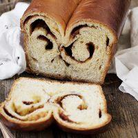 Double Swirl Cinnamon Bread