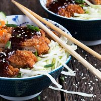Pork Katsu Bowl