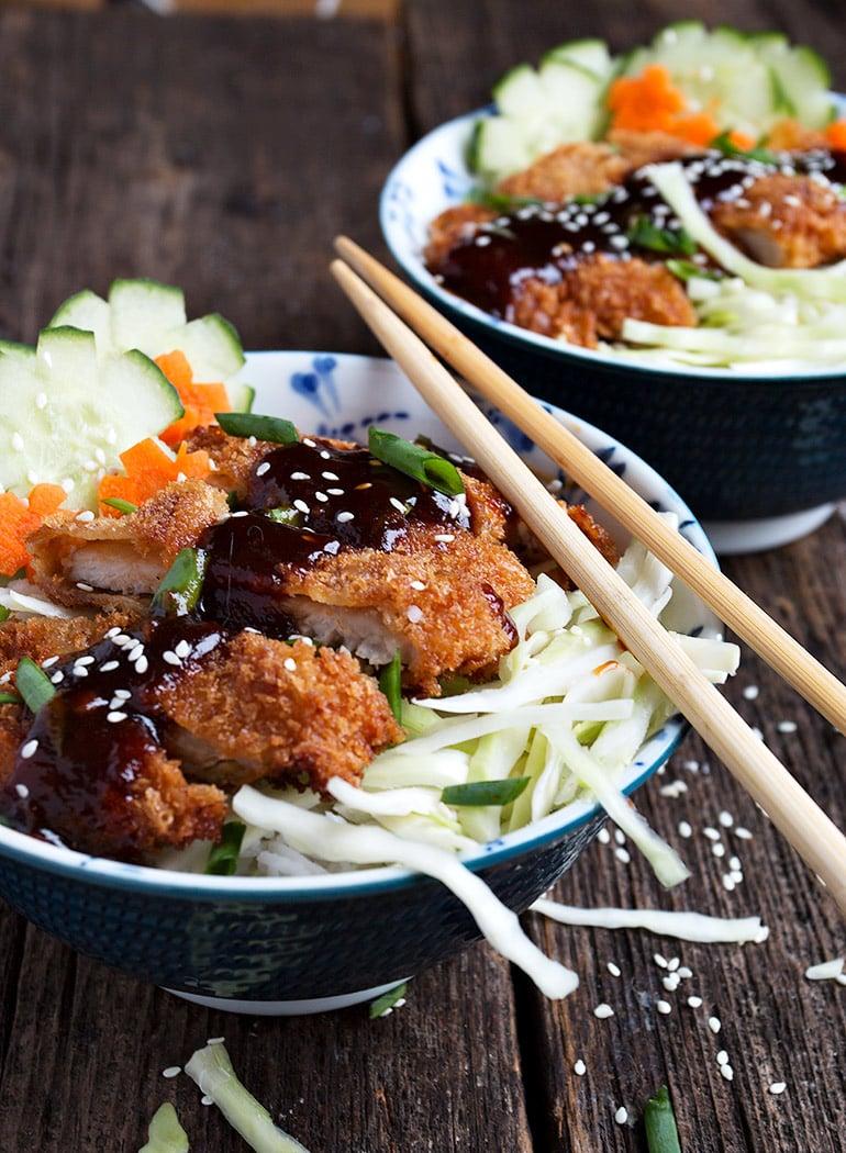 Pork Tonkatsu Bowls