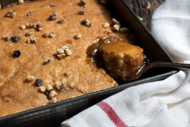Maple Walnut Pudding Chomeur